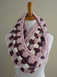 Cherries In Bloom Infinity Scarf