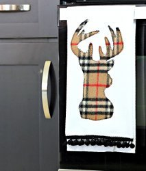 Winter Deer Kitchen Towels