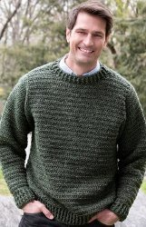 4559053b5076c5 Simple Sweater for Him