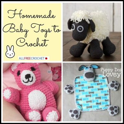 Homemade Baby Toys to Crochet