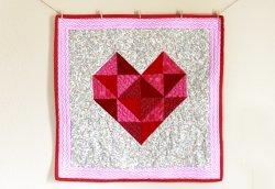 Quilted Heart Design