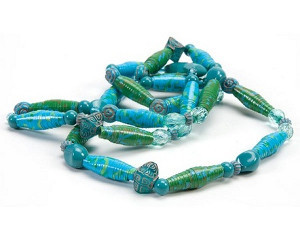 Duct Tape Rolled Beads