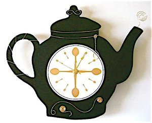 Wired Tea Pot Clock