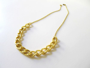 5 Minute Gold Chain Necklace