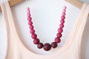 Clayful Ombre DIY Necklace