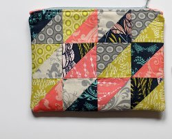 Fat Quarter Zipper Pouch