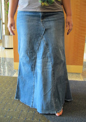 e5c2f744dd DIY Denim Skirt