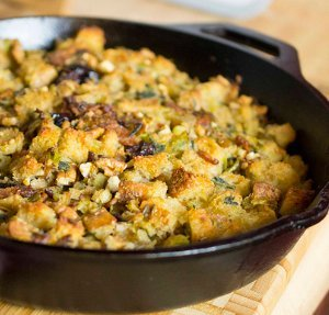 Bacon Leek Stuffing