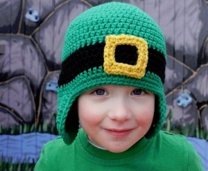Crochet Baby Leprechaun Hat Pattern : Lucky Leprechaun Hat AllFreeCrochet.com