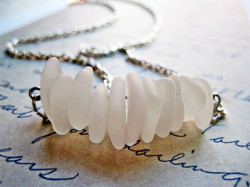 Washed Ashore Sea Glass Necklace