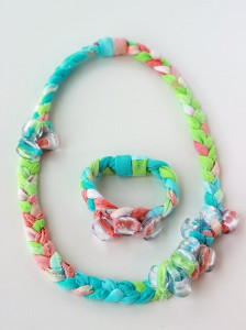 Colorful Tie-Dyed Jewelry