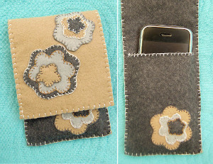 Felt Cell Phone Envelope