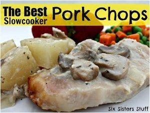 The Best Slow Cooker Pork Chops | AllFreeSlowCookerRecipes.com