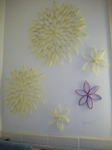 Toilet Paper Roll Sunflowers
