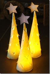Illuminated Christmas Trees