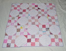 Snowballs for Colleena Baby Quilt