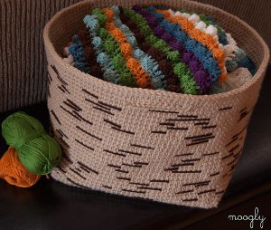 Tree Bark Basket