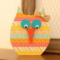 Washi Tape Hooty Owl