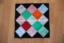 Granny Square Diamonds Block