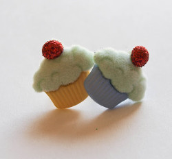 Cutest Cupcake Earrings