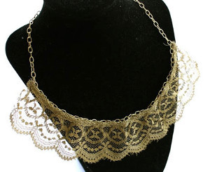 Golden Age Lace Necklace