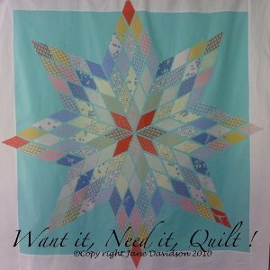Beautiful Diamonds Star Quilt