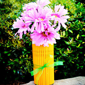 Teacher's Pencil Vase