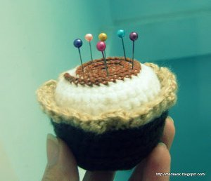 Creative Cupcake Pincushion