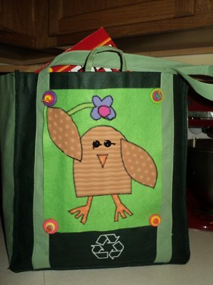 Upcycled Reusable Shopping Bags