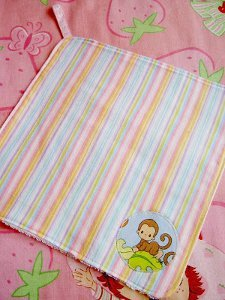 Soft Flannel Baby Wash Cloths