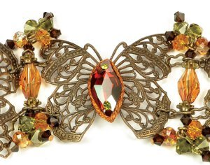 Flight of Fancy Butterfly Bracelet