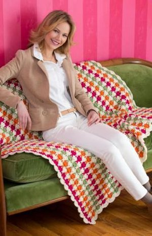 Juicy Fruit Afghan Crochet Pattern