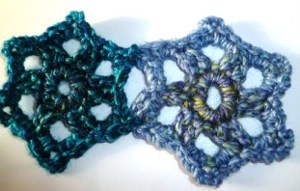 Simple Star Crochet Motif
