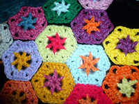 Learn to Crochet Geometric Patterns: Hexagon Crochet Motifs eBook