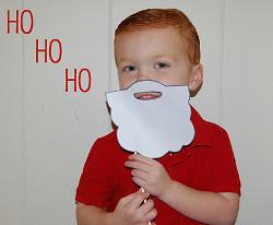 Santa's Paper Beard