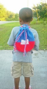 Patriotic Book Bag