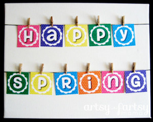 Happy Spring Printable Posters