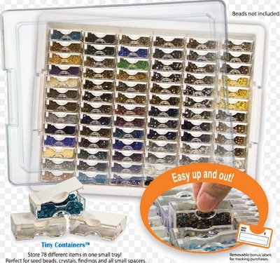 Tiny Container Bead Storage Tray from Bead Storage Solutions