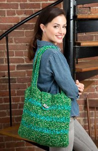Trendy Tweed Tote