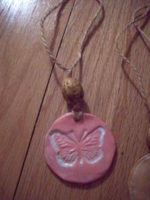 Clay Butterfly Charm