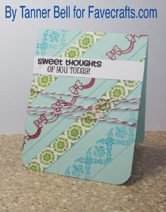Sweet Thoughts Greeting Card