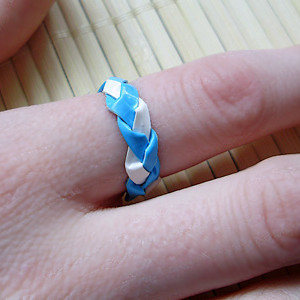Braided Duct Tape Ring