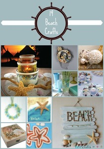 19 Beach Crafts for the Home