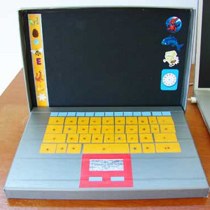 Duct Tape Play Laptop
