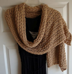 Elegant Evening Shawl