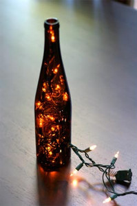 Way Easy Light Up Wine Bottle Craft