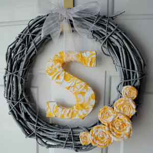 Put a Name On It Wreath