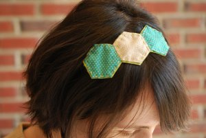 Triple Hexie Headband