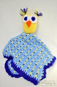 Handmade Owl Lovey