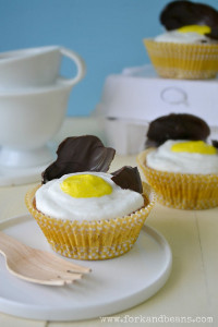 Sunny Side Up Cupcakes